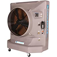 Cool-Space CS6-36-VD-CDB Avalanche Variable Speed Custom Colored Portable Evaporative Cooler, 36