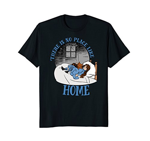 Place Like Home Wizard - There is No Place Like Home Wizard of OZ Tshirt-Dorothy Toto