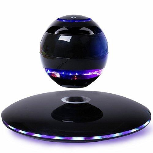 SenseAbility 宙に浮くスピーカー マルチカラーLED ワイヤレス 日本仕様 Black B01N5M8JFT ブラック マルチカラー