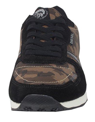 Diesel JOGGON JOW-300 Camouflage - Damen Sneaker Fashion Schuhe Braun Camouflage