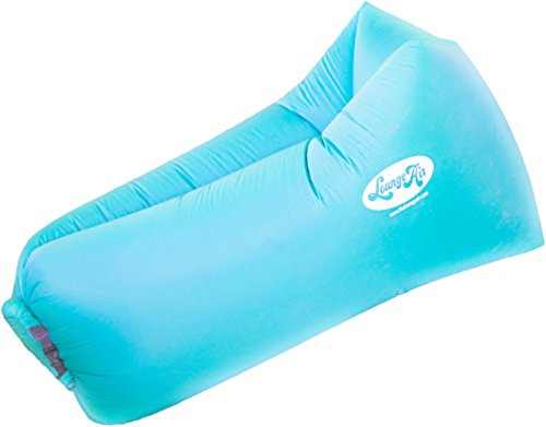 LoungeAir Inflatable Pool Float Lounger | Blow Up Air Mattress Bed and Chair Requires No Air Pump | Enjoy the Outdoors with This Air Lounge That is a Convenient Alternative - Canada To First International Class