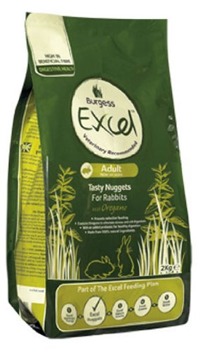 Burgess Excel Rabbit Food With Oregano Adult (Burgess Excel Rabbit)