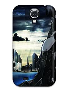 Audrill Perfect Tpu Case For Galaxy S4/ Anti-scratch Protector Case (ghost In The Shell)
