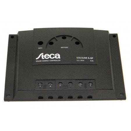 Steca Solar Charge Controller - 6 Amp, 12/24 Vdc, W/ Leds, | Solsum 6.6F