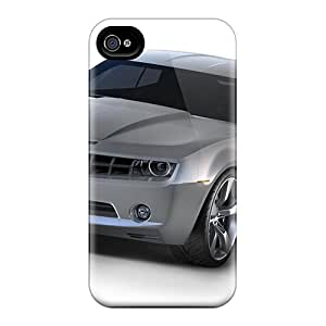 Hot Hfv79lSBq Chevrolet Camaro Concept 5 Tpu Case Cover Compatible With Iphone 4/4s