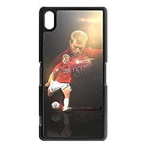 Awesome Graceful Cover Shell Famous Players Design Case Paul Scholes Pattern Phone Case for Sony Xperia Z2