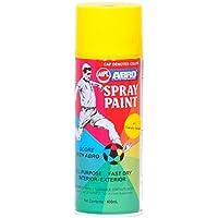 Abro Colour Spray Paint (400ml, Canary Yellow)