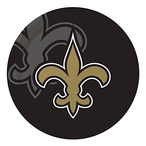 Creative Converting Officially Plates Officially Licensed Saints NFL Dinner Paper Plates 96-Count New Orleans Saints [並行輸入品] B07F8FVBFF, レザムルーズ:bf847477 --- imagenesgraciosas.xyz