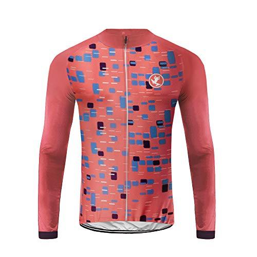Uglyfrog Winter Thermal Cold Wear Cycling Jerseys for Men Long Sleeve Cycling Jersey,Cycling Tops Men,Cycling Shirts,Bike Jersey HUSChangXDK16
