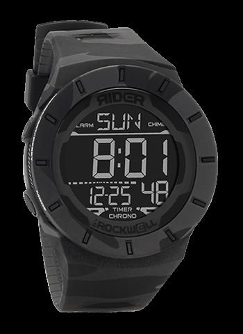 Rockwell Time RCL-MC2-1 Coliseum Digital Dial Watch, Multicam black by Rockwell Time