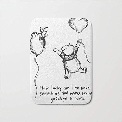 The Carpet Winnie Pooh (Usvbzd Winnie The Pooh Bath Mat Doormat 16×24 inch)