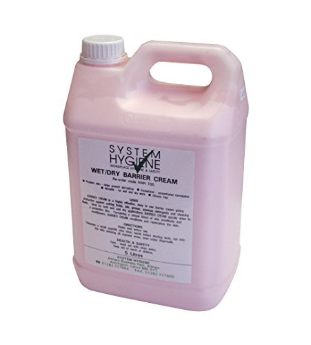 System Hygiene Wet and Dry Hand Barrier Cream 5Ltr