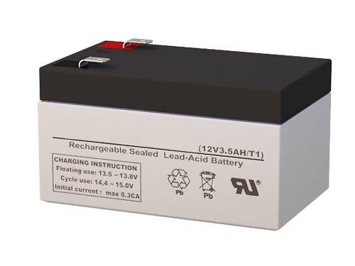 BATTERY FOR WP3-12 Backup 12 Volt 3.4AH by SigmasTek