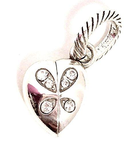 (Brighton Transformer Heart Charm, J99811, Silver)