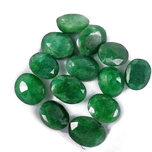Colombian Emerald Approx 60 Ct - 7 Pcs Natural Oval Cut Green Emerald Loose Gemstones Lot