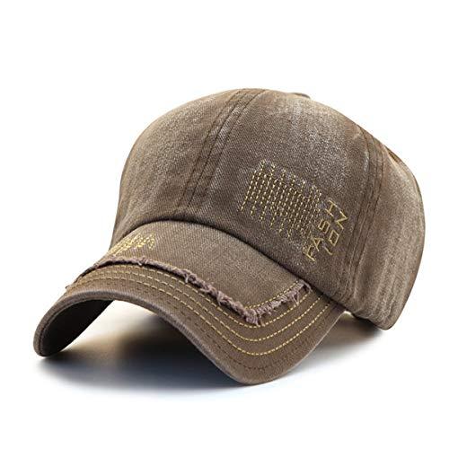 los GLLH béisbol de Solar Gorra Libre al de Viejo Sombrero de Sombreros qin Primavera Sombrero de Aire de y E D otoño Retro hat algodón protección Hombres Vaquero de rIqCw0r