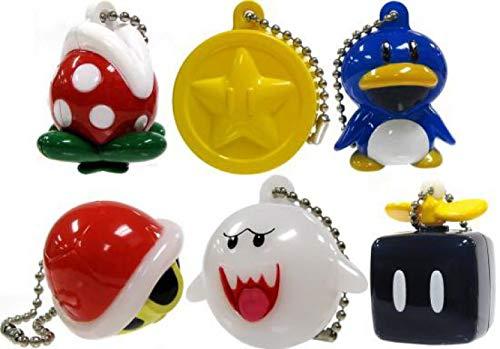 New Super Mario Bros Wii Light-up Mascot - Part 2 - Set of 6 (Super Mario Mascot)