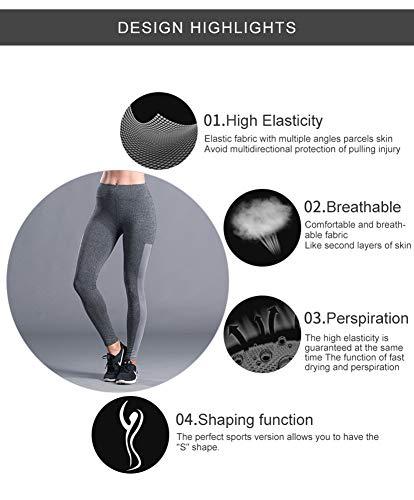Leggings Tagliati Slim Gym Capri Sportivi Da Sypnb Pantaloni Fitness Donna Elasticizzati dvxXUwx0q