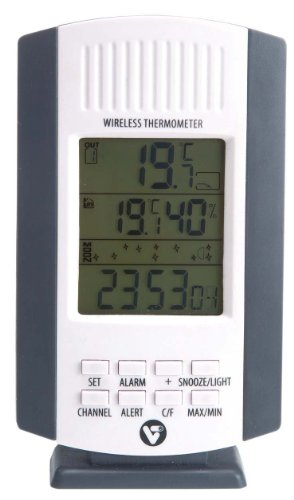 VT 148152 Kabelloses Teichthermometer-Set mit Alarmfunktion, Wireless Pond Thermometer