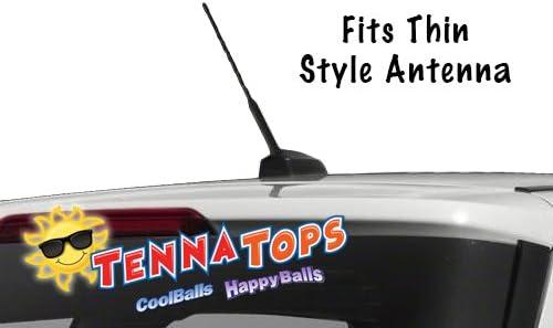 Auto Accessory Antenna Ball Rear View Mirror Dangler Coolballs Quantity 2 pc Pack Cute Brunette RN Nurse w Sunglasses Car Antenna Topper