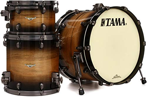 Tama Starclassic Maple Exotix 3-piece Shell Pack - Exotix Pacific Walnut