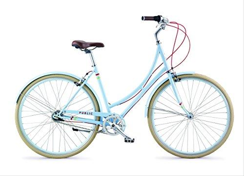 PUBLIC Bikes C7i Dutch-Style Commuter Bike, Powder Blue, 16 inch / Small