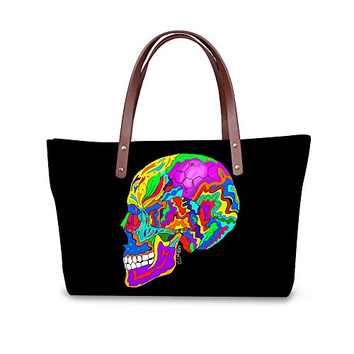 Top FancyPrint Fashion Women Handle Handbags C8wcc1518al Satchel Wallets Bags Foldable Purse Sarw6pqPYS