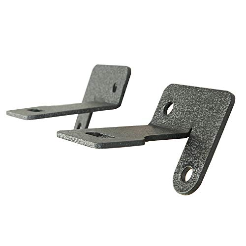 - EAG Windshield Hinge Light Mounting Brackets Fit for 87-06 Jeep Wrangler TJ/YJ - Pair