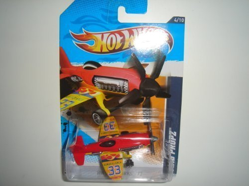 2012 Hot Wheels HW City Works Mad Propz Red/Yellow #134/247 (Firebird Wings Hot)
