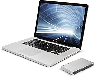 LaCie Porsche Design USB 3.0 2TB Mobile Hard Drive + 2mo Adobe CC Photography (STET2000403)