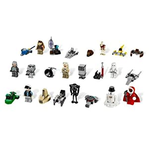 LEGO 2012 Star Wars Advent Calendar 9509(Discontinued by manufacturer) - 41gK8iCky 2BL - LEGO 2012 Star Wars Advent Calendar 9509(Discontinued by manufacturer)