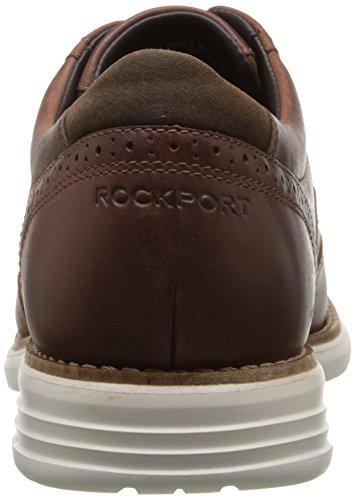 Rockport Mens Fusion Totale De Mouvement Tan Chaussure De Bout Daile