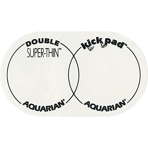 (Aquarian Drumheads STKP2 Thin Kick Pad Kick Pad accessory)