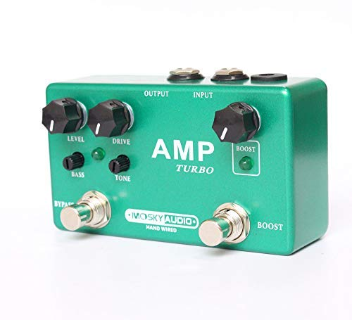 (Mosky Audio AMP TURBO Overdrive and Boost New Great Price Fast US Ship!)