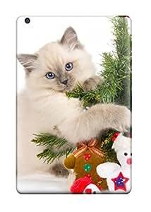 Premium Cat Hugging A Tree Heavy Duty Protection Case For Ipad Mini/mini 2