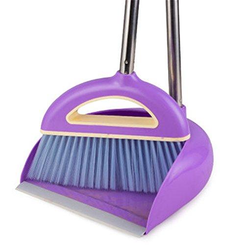 purple kitchen broom - 4