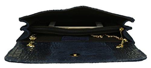 Azul mano Handbags Marino Girly Cartera de Mujer HqgUnwXxz