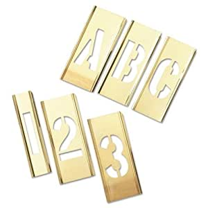 letter and number sets brass stencil letter amp number sets 92pc 2 18070 | 41gKAuj1f5L. SY300 QL70