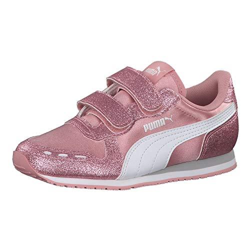 PUMA Cabana Racer Glitz V PS Kids Sneaker Girls Pink 370985