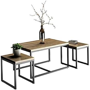 3 Piece Coffee Table Set 4