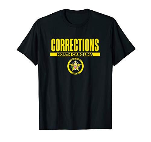 North Carolina Correctional Officer Thin Gray Line T-Shirt]()