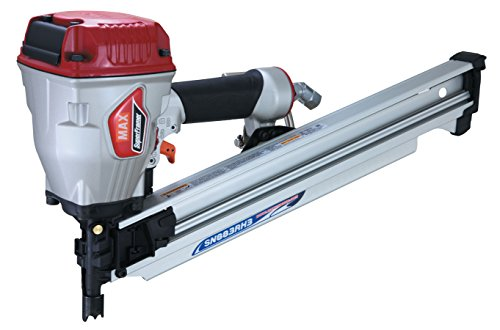 Max SN883RH3 Super Framer 21 Degree Framing Nailer by Max