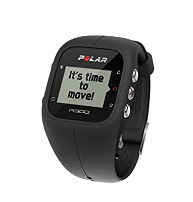 Polar A300 Fitness Tracker and Activity Monitor with Heart Rate Monitor Black (Certified Refurbished)