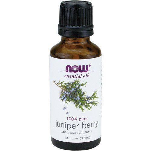 NOW Essential Oils Juniper Berry Oil,1-Ounce - incensecentral.us