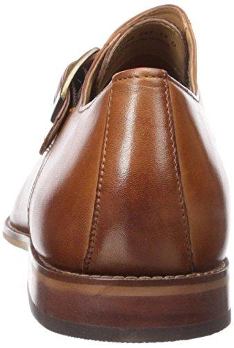 Slip Mens Single Montinaro Florsheim Dress Saddle on Tan Monk Shoe pq6g4wR