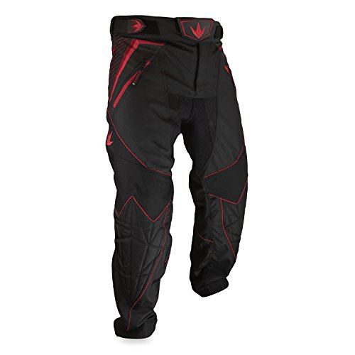 Bunker Kings V2 Supreme Paintball Pants (XX-Large (2XL), Red) (Paintball Pants Red)