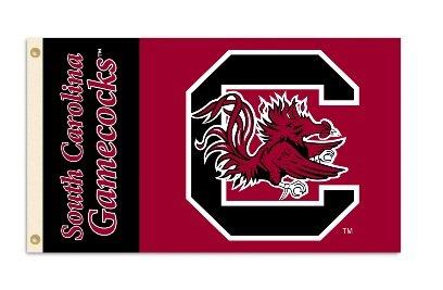 South Carolina Gamecocks Collectibles (NCAA South Carolina Fighting Gamecocks 3-by-5 Foot Flag With Grommets)