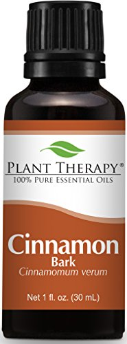 Plant Therapy Cinnamon Bark Essential Oil. 100% Pure, Undiluted, Therapeutic Grade. 30 mL (1 Ounce).