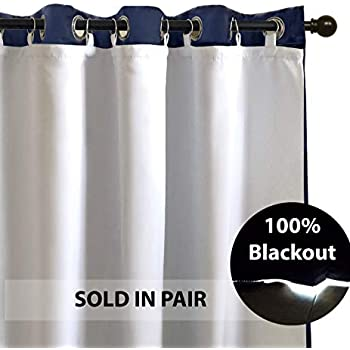 Amazon Com Driftaway Thermal Insulated Blackout Curtain