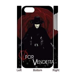 ANCASE Diy hard Case V for Vendetta customized 3D case For Iphone 4/4s